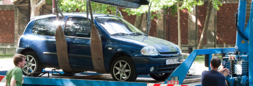 Contacter la fourrière qui a enlevé votre véhicule