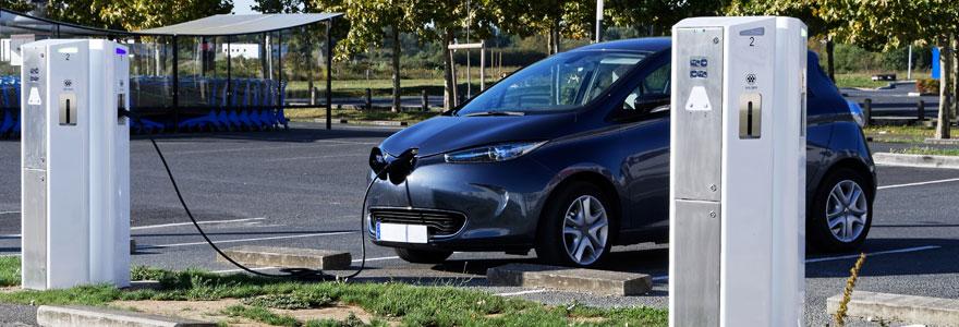 Bornes de recharge de véhicules